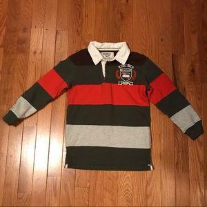 Boys Size 6 Long Sleeve OshKosh Rugby Shirt